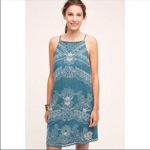 Anthropologie shift dress